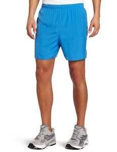 ASICS Men's Core 5-Inch Microfiber Running Shorts - Jasper Blue, XX-Large