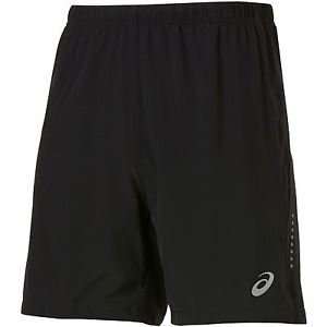 ASICS Men's Woven 7-Inch Running Shorts - Black - 2XL