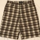 Sonoma Life + Style Men's Flat-Front Plaid Cotton Madras 11-Inch Longer Shorts