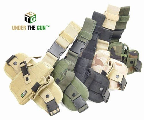 Special Ops Universal Tactical Leg Holster (Right) (desert Camouflage)