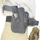 Deluxe Tactical Belt Holster (black)