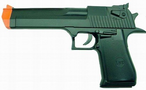 "Hfc ""desert Eagle"" Replica Airsoft Pistol(black)"