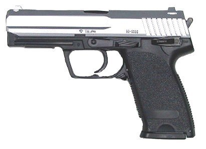 Uhc Usp P8 Airsoft Heavy Weight Spring Pistol (2-tone)