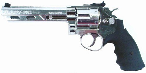 Hfc Savaging Bull .357 Revolver (chrome)