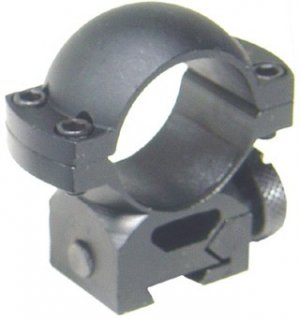 One inch .22-Airgun Style Tactical Ring