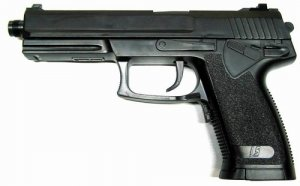USP SOCOM Full Auto & Semi Electric Blowback Pistol