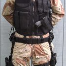 Tactical Vest and Left and Right Tactical holsters