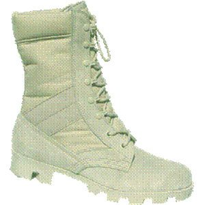 Jungle Boots, Tan, Size 4