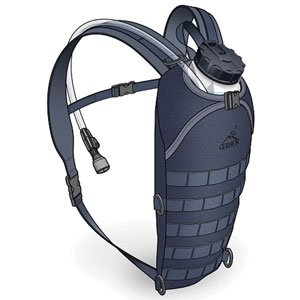 Hydration Pack, Small, Military, Black
