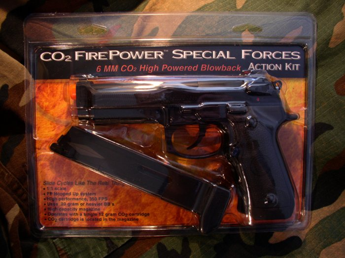 M190 Special Forces CO2 Blowback