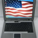DELL LATITUDE D510 BUSINESS LAPTOP 1.73GHZ CPU 1GB RAM DVD/RW 40GB WINDOWS WIFI