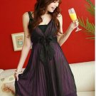 Chiffon Silk Screen Dress F2-R120 #0021
