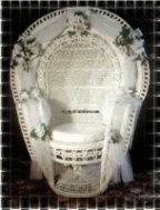 Bridal Shower Wicker Chair For Rental Pick Up Only