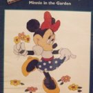 Counted Cross Stitch Kit Minnie In The Garden Kit New