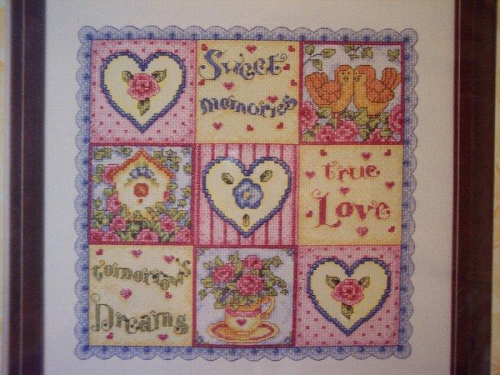 Sweet, Love, Dreams  Cross Stitch Kit New