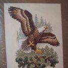 Landing Eagle Cross Stitch Kit New