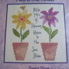 Flowers Bloom cross stitch kit new