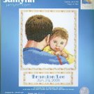 Daddy & Me Counted Cross Stitch Kit