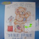 Patch Patch Patch Stamped Cross Stitch Kit New