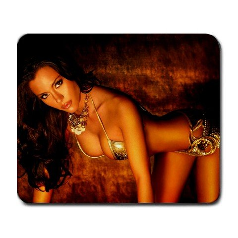 Beautiful Sexy Ursula Meyes Semi Nude Large Mousepad M085