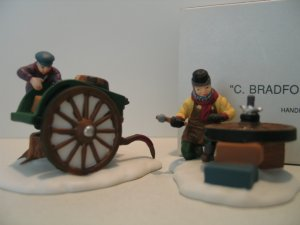 Department 56 Dickens  Village C. BRADFORD, WHEELWRIGHT & SON Dept 56