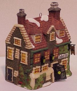 Department 56 Dedlock Arms Ornament 1994 New in Box Dept 56