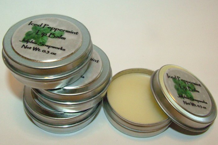 SALE Iced Peppermint Lip Balm 0.30 oz Tin