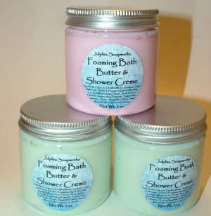 Foaming Bath Butter and Shower Creme