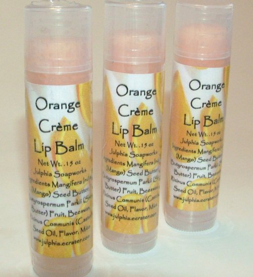 Orange Crème Lip Balm 0.15 oz Tube