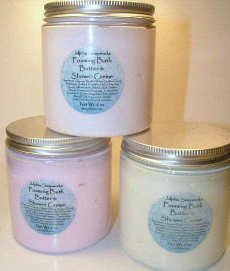 Foaming Bath Butter and Shower Creme - Jumbo Size