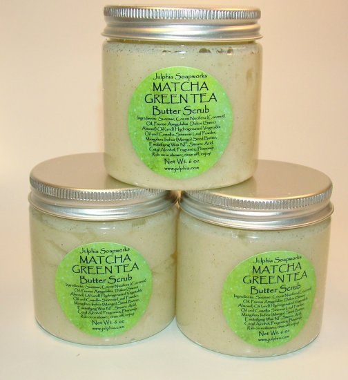 Matcha Green Tea Butter Scrub
