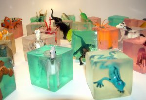 Embedded Critters Glycerin Soap