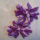 2.5 inch Korker hair clips - set of 2 - purples