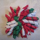 3.5 inch Korker hair clip - Christmas