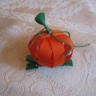 Handmade Pumpkin Alligator clip