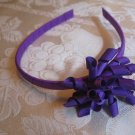 Hard Korker Headband - dark purple