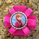 Disney Princess Frozen Bottle Cap Hair Clip- Anna