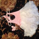 Halter petti dress- pink size 4t