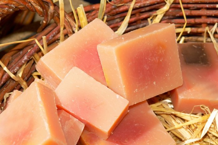 48 Assorted Large Handmade Natural Olive Oil Soap