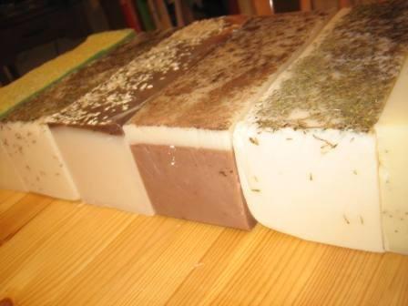 Wholesale Soap Log Handmade Natural Cucumber Melon