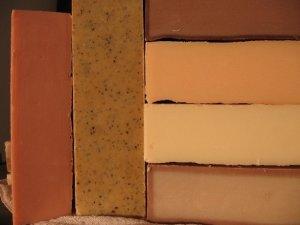 handmade Soap Loaves Lye Soap Rosemary & Thyme Homemade Bulk