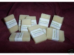 Handmade Soap Olive Oil Natural Guest Soap Maple Cream
