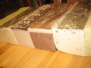 Large 12 lb Handmade Natural Olive Oil Cherry Almond Soap Wholesale