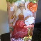MATTEL BARBIE DOLL 2014 HOLIDAY WISHES CHRISTMAS NRFB