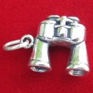 BRAND NEW STERLING SILVER 925 BINOCULARS HUNTING BIRD WATCHING CHARM