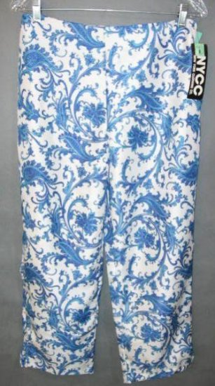NYCC Gorgeous capri pants size 8 NEW