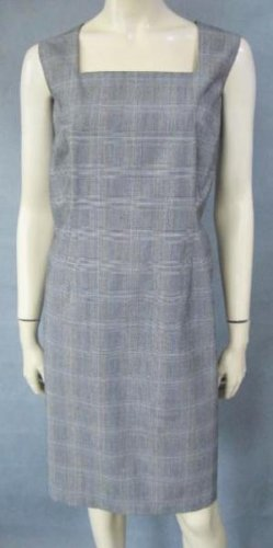 ELEMENTAL stretch houndstooth DRESS size 16