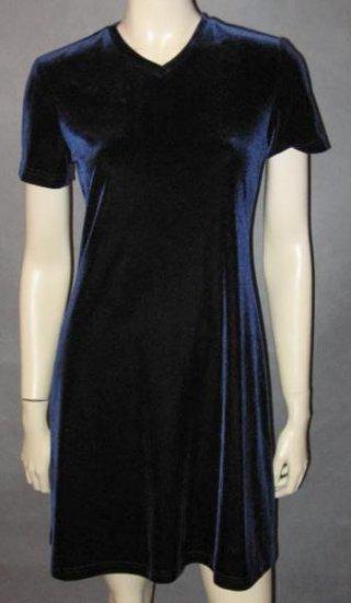 RONNI NICOLE stunning blue DRESS size 6 petite