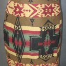 WESTBOUND southwestern tapestry WRAP SKIRT size 6