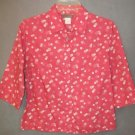 J CREW swiss dots TOP size MEDIUM